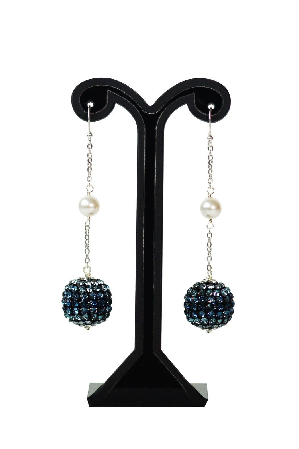Dana Ponticiello Sphere Swarovski Earrings - Main Image