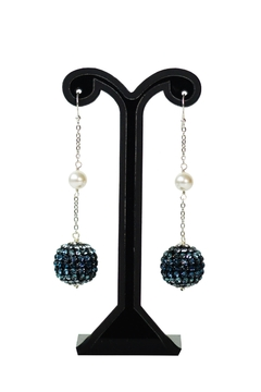 Shoptiques Product: Sphere Swarovski Earrings