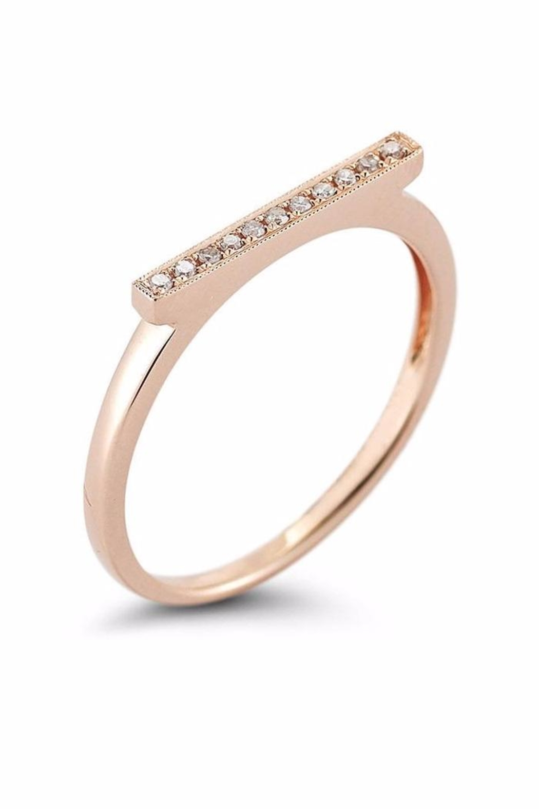 Dana Rebecca Designs Sylvie Bar Ring - Front Cropped Image