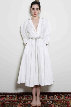 Levinia Konyalian Danae White Dress - Alternate List Image