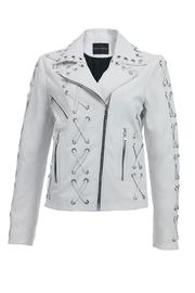 DanCassab Whitney Biker Jacket - Product Mini Image