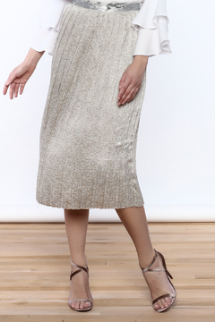 Dance & Marvel Silver Fox Skirt - Product List Image