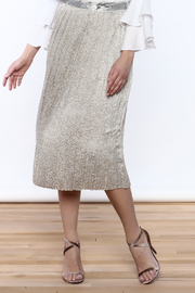 Dance & Marvel Silver Fox Skirt - Product Mini Image
