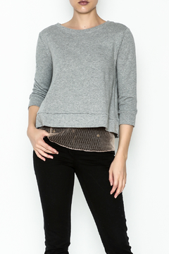 Shoptiques Product: Lace Underlay Sweater