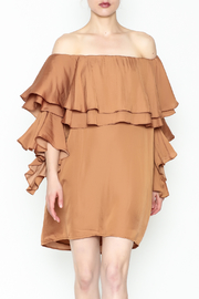 Dance and Marvel Off Shoulder Dress - Front cropped