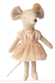 Maileg Dance Clothes For Mouse- Giselle - Front full body