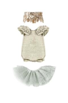 Maileg Dance Clothes For Mouse- Swan Lake - Product List Image