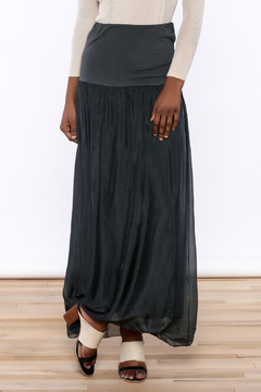 Shoptiques Product: Grey Long Skirt