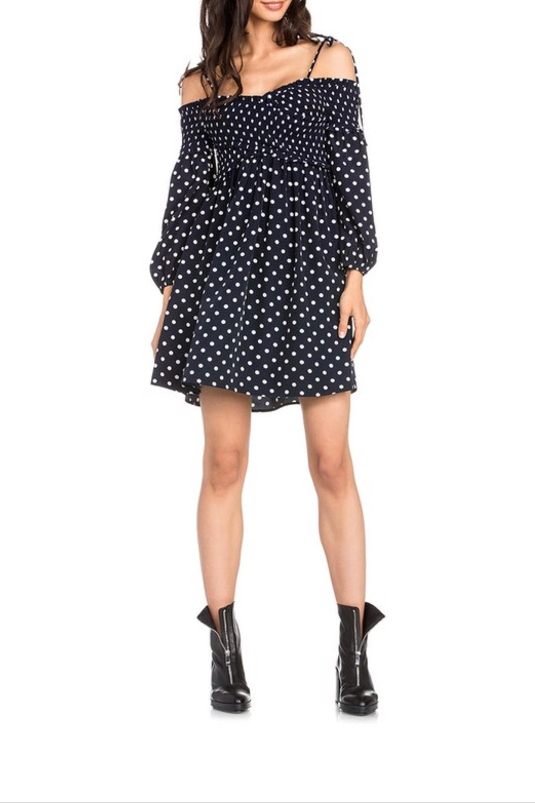 Dance & Marvel Polka Dot Dress - Main Image
