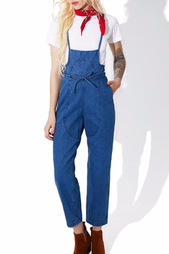 Shoptiques Product: Sadie Denim Jumpsuit