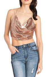 Dance & Marvel Sequin No-Back Top - Product Mini Image