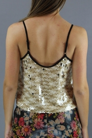 Dance & Marvel Shimmer Crop Tank - Side cropped