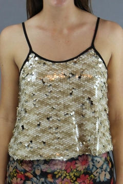 Shoptiques Product: Shimmer Crop Tank