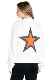 Dance & Marvel Star Back Sweater - Front cropped