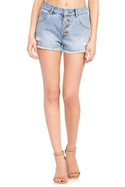 Dance & Marvel Star Denim Shorts - Product Mini Image