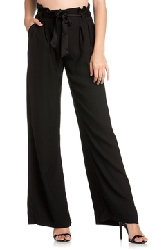 Dance and Marvel Black Satin Trousers - Alternate List Image