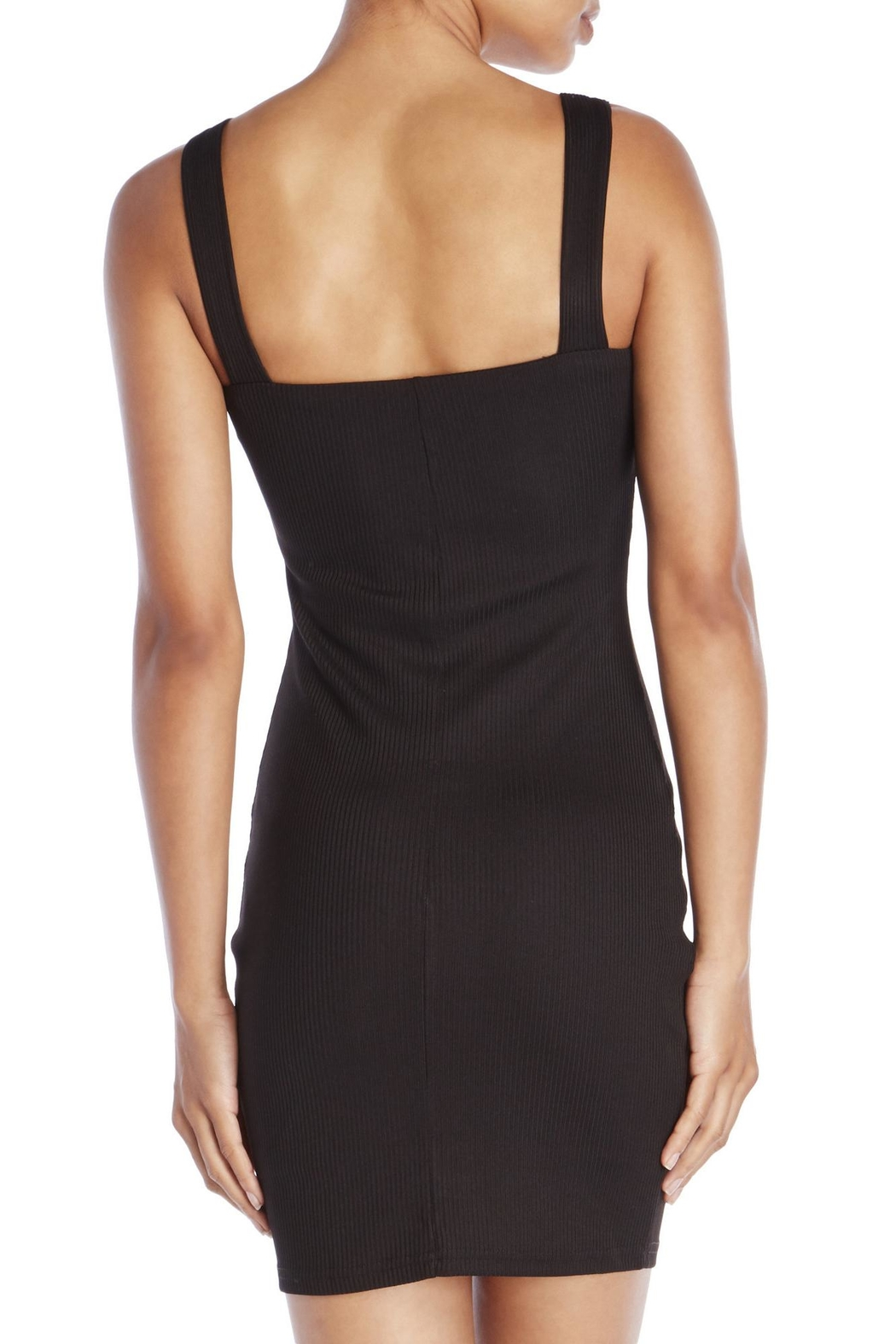 Dance and Marvel Front Zip Dress - Side Cropped Image
