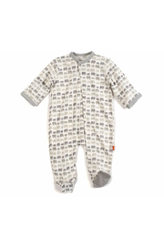 Magnificent Baby Dancing Elephants Modal Magnetic Footie - Product Mini Image