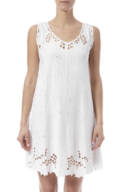 Dancing Gecko Eyelet Lace Dress - Side cropped