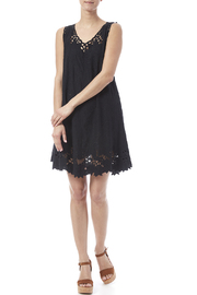 Dancing Gecko Eyelet Lace Dress - Front full body