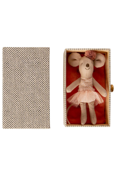 Maileg Dancing Mouse in Daybed - Little Sister - Alternate List Image