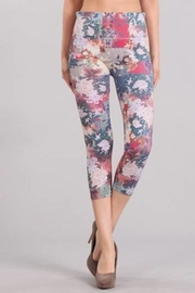 M. Rena Dancing Peonies Leggings - Product Mini Image
