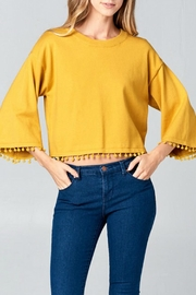 Ellison Dancing Puffs Top - Front cropped
