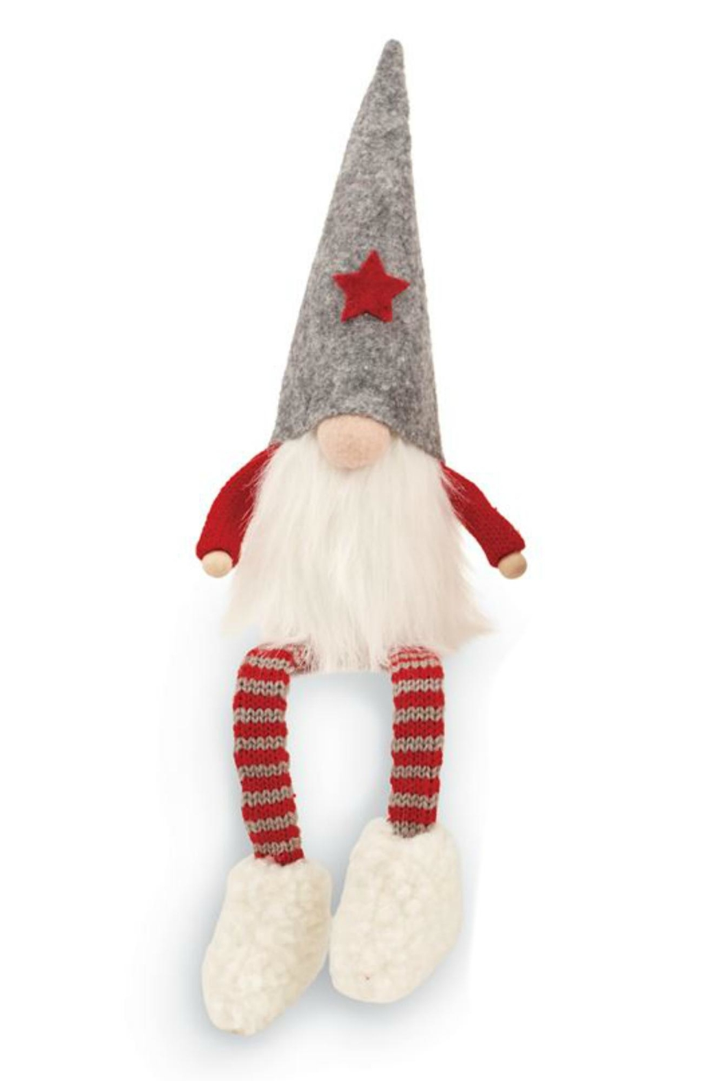 MUDPIE Dangling Leg Gnome - Front Cropped Image