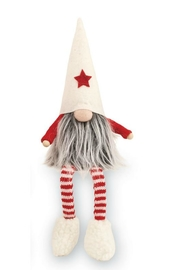 MUDPIE Dangling Leg Gnome - Side cropped