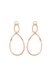 Riah Fashion Dangling-Wire Teardrop Earring - Product Mini Image