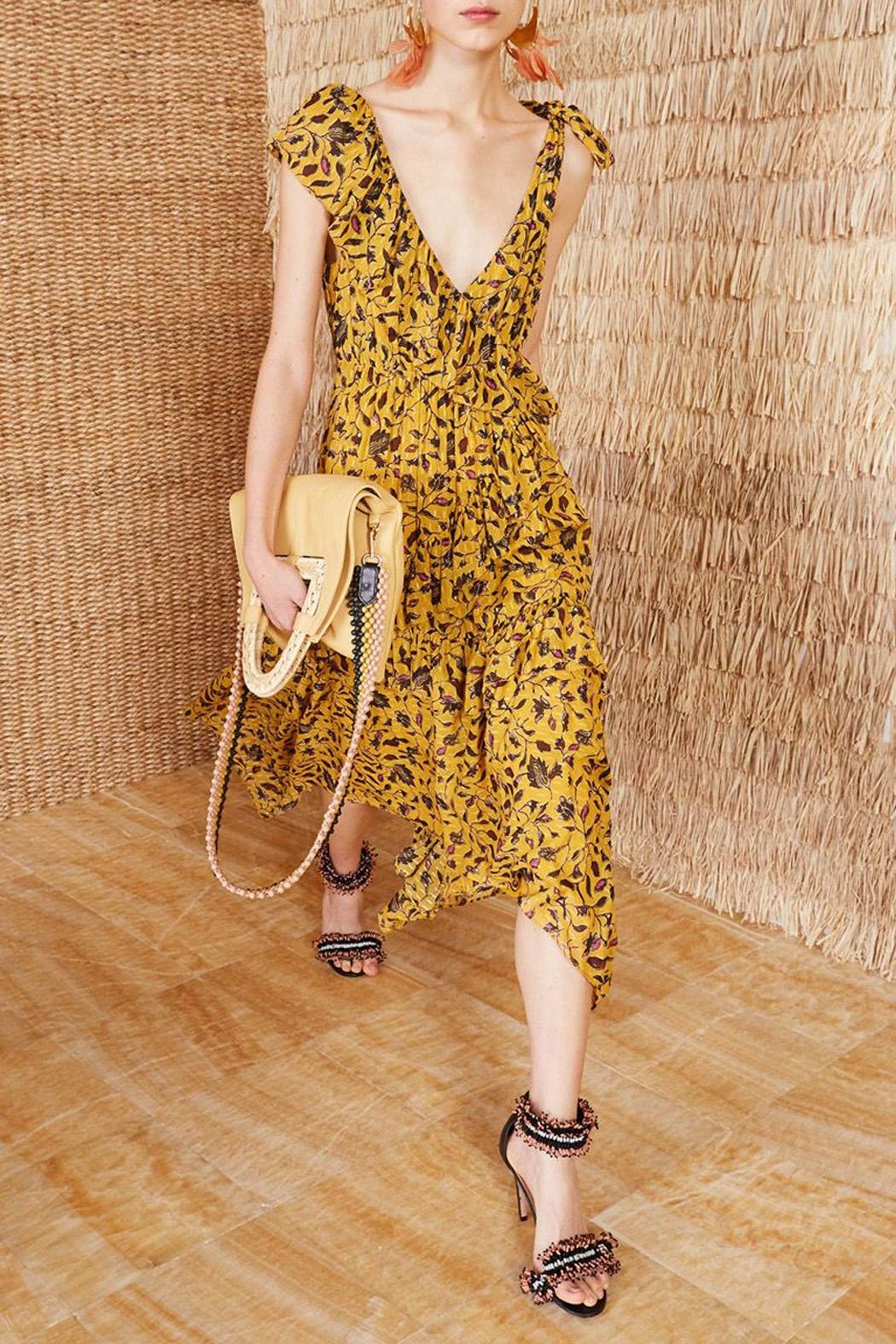 Ulla Johnson Dania Amber Dress - Main Image