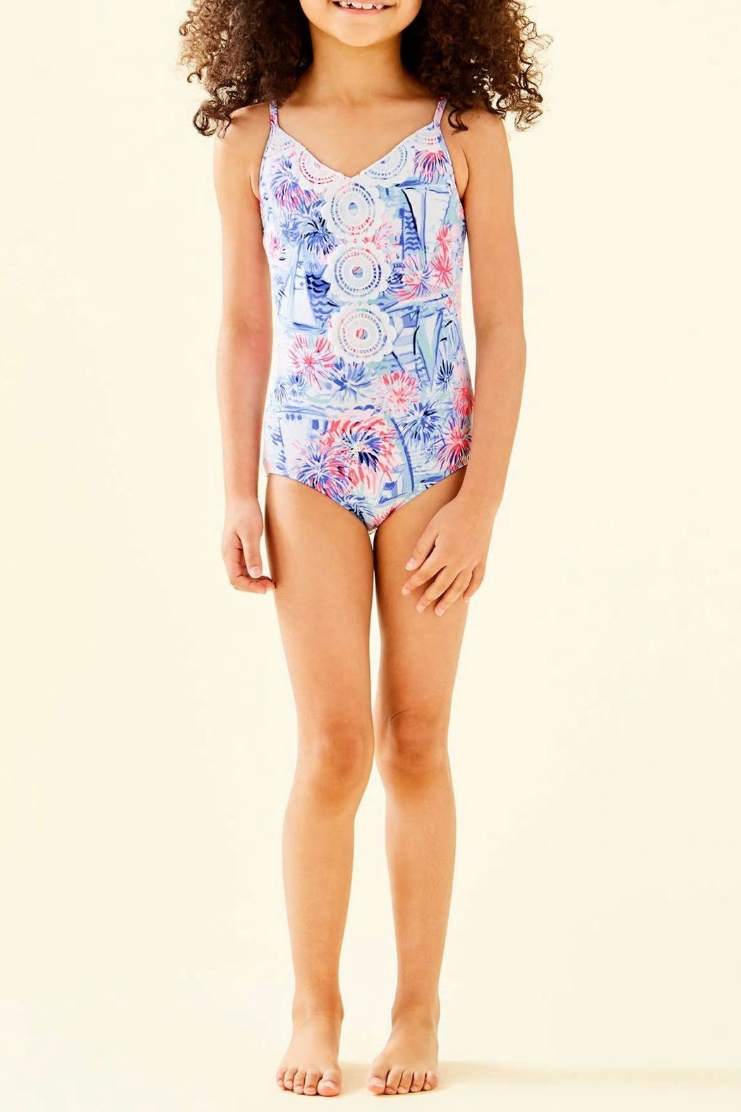 Lilly Pulitzer Danica One-Piece Swimsuit - Main Image