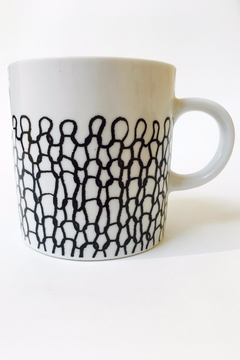 Shoptiques Product: Black-White Entwine Pattern
