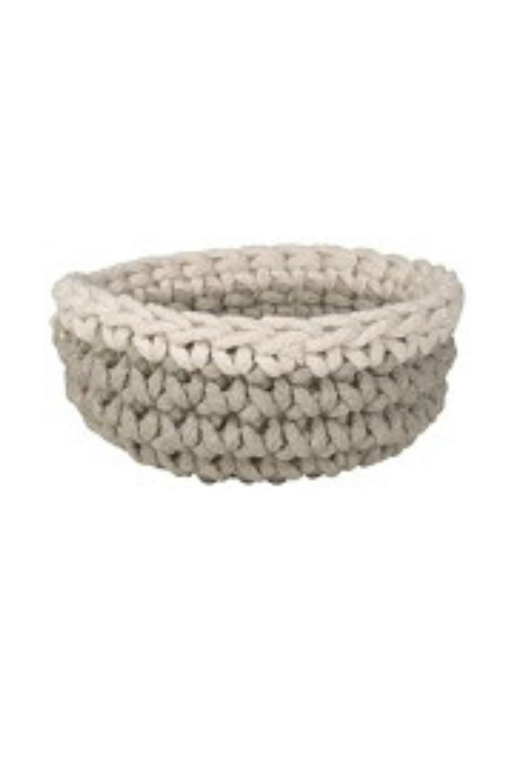 Danica Studio Crocheted Basket - Main Image