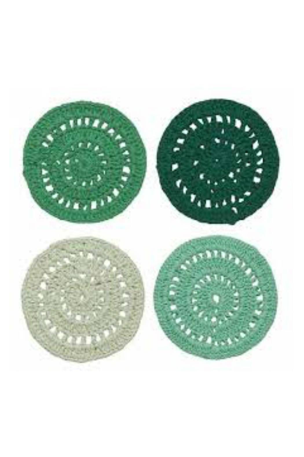 Danica Studio Crocheted Coasters - Front Cropped Image
