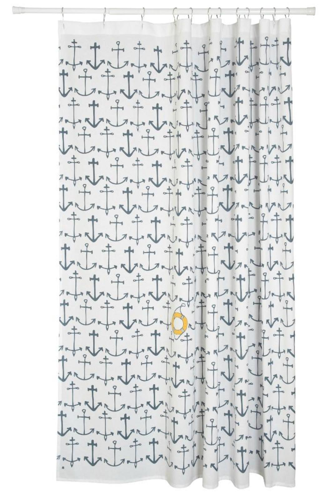 Danica Studio Nautical Shower Curtain   Front Cropped Image