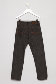 Daniel L Grey Jeans - Back cropped