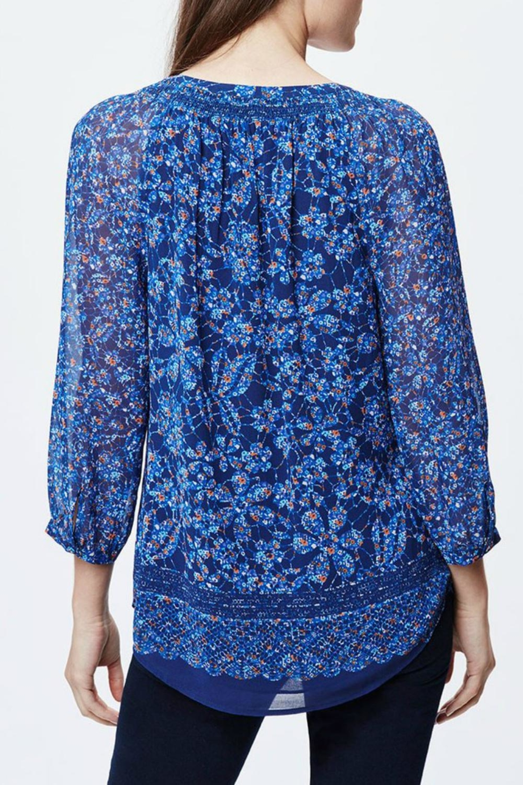 afb4fd606735d0 Daniel Rainn Blue Floral Blouse from New Jersey by Wink Boutique ...