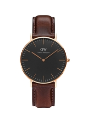 Daniel Wellington Classic Bristol Wrist Watch - Front cropped