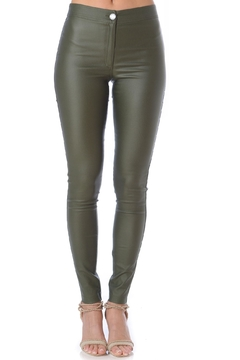 DANIELA CORTE Ba Waxed Pants - Product List Image