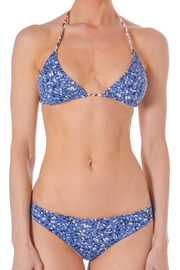DANIELA CORTE Reversible Swimsuit Top - Front cropped