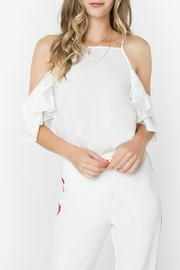 Sugar Lips Daniella Cold-Shoulder Top - Product Mini Image