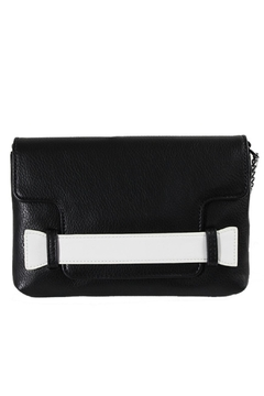 Danielle Nicole Black/white Clutch - Product List Image