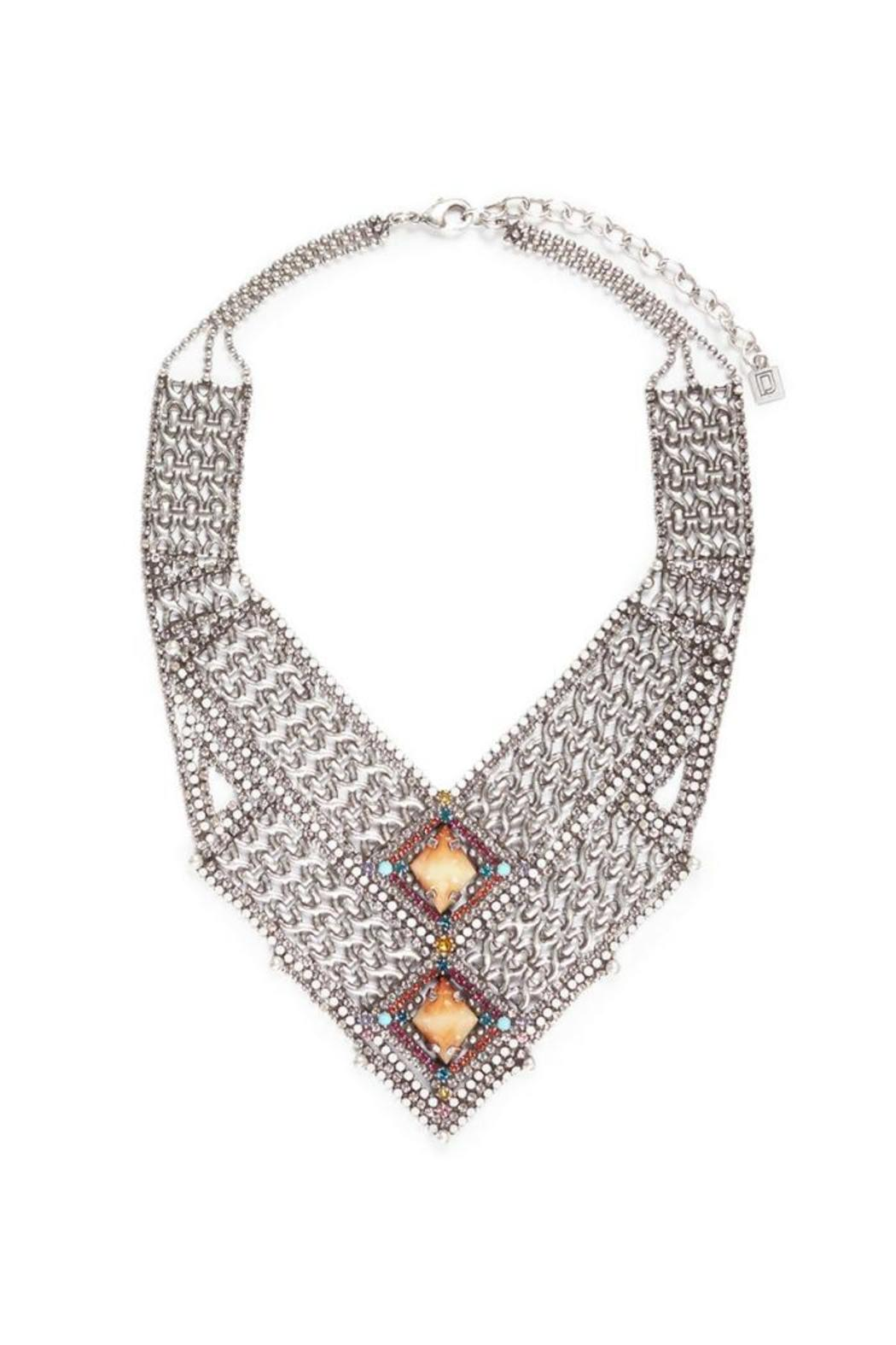 DanniJo Rey Statement Necklace - Main Image