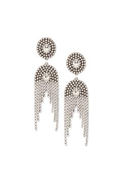 Shoptiques Product: Silver Statement Earrings