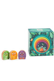 Magic Forest Dans La Jungle - Stack-up Cubes and 3 Chicks - Product Mini Image