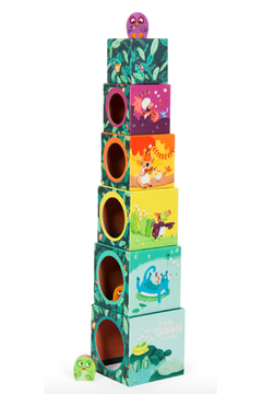 Magic Forest Dans La Jungle - Stack-up Cubes and 3 Chicks - Alternate List Image