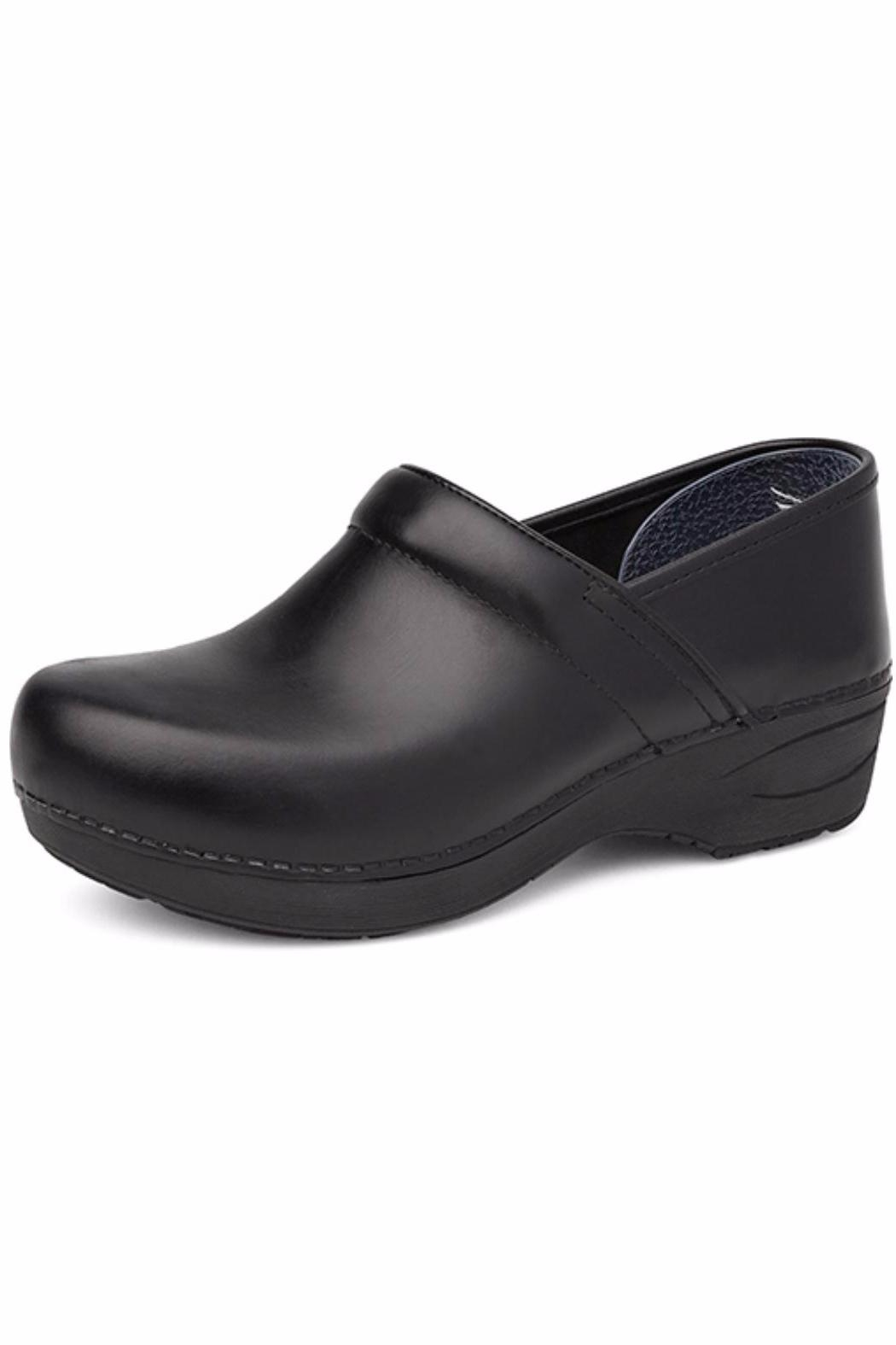 Dansko Black Pull Up Clog - Main Image