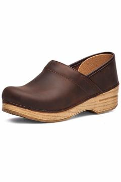 Dansko Brown/blonde Leather Clog - Alternate List Image