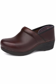 Dansko Brown Pull Up Clog - Product Mini Image